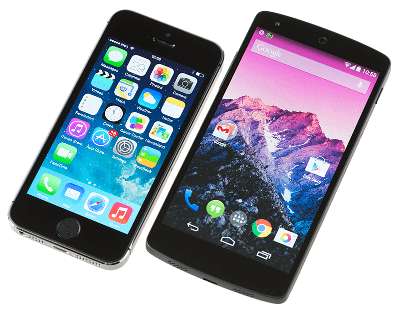 Who's Winning, iOS or Android? All the Numbers, All in One Place - iphone vs android min